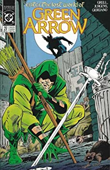 """Comic GREEN ARROW #27-28 """"ENTER THE LOST WORLD OF..."""" complete (GREEN ARROW (1988 DC)) Book"""