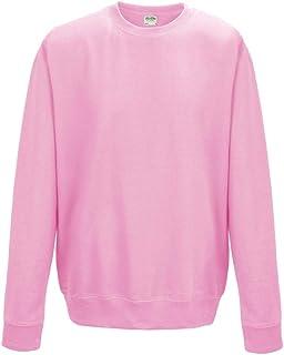 AWDis Men's Sweatshirt Baby Pink XS