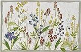 Sander Gobelin 4er Set Tischset florales Motiv Blumenwiese Blüten Blumen