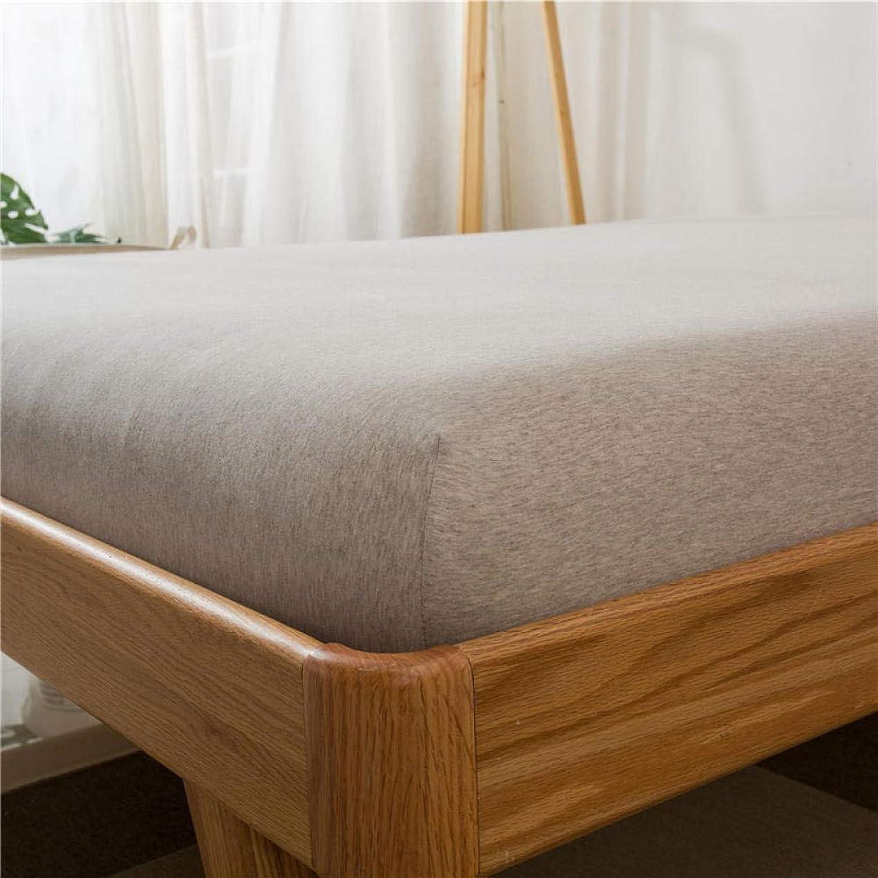 文句を言う病気の便宜DecoKingフィットシート、クリスタルフリースフィットシート、暖かいベッドカバー、シングルダブルキングサイズマットレスカバー-_gray_150cm * 190cm + 15cm