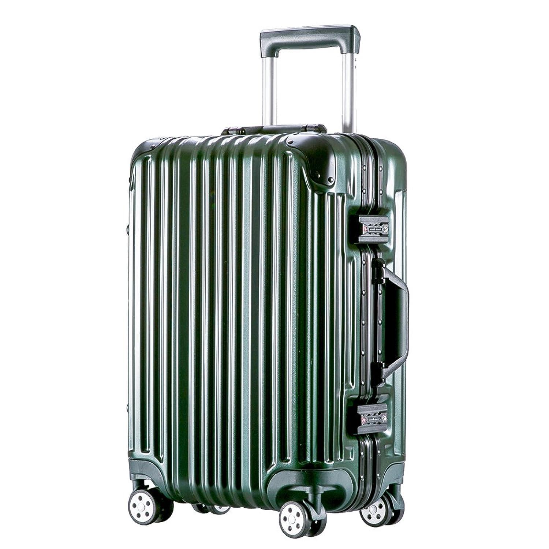 [トラベルハウス]Travelhouse スーツケース キャリーケース アルミフレーム 鏡面 超軽量 傷が目立ちにくい TSAロック(一年安心保証)