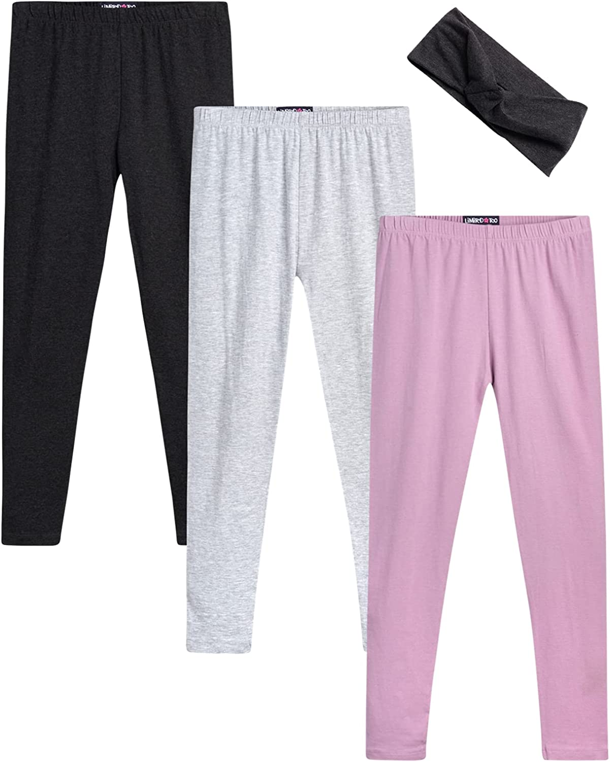 Challenge the lowest price of Japan Limited Too Sale Girls' Leggings - Full Length Solid Pack 3