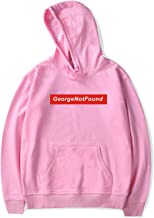 CNSTORE George Not Found Merch Hoodie Sweatshirt Heren/Vrouwen Outdoor Hip-Hop Stijl Plus Size XXS-4XL