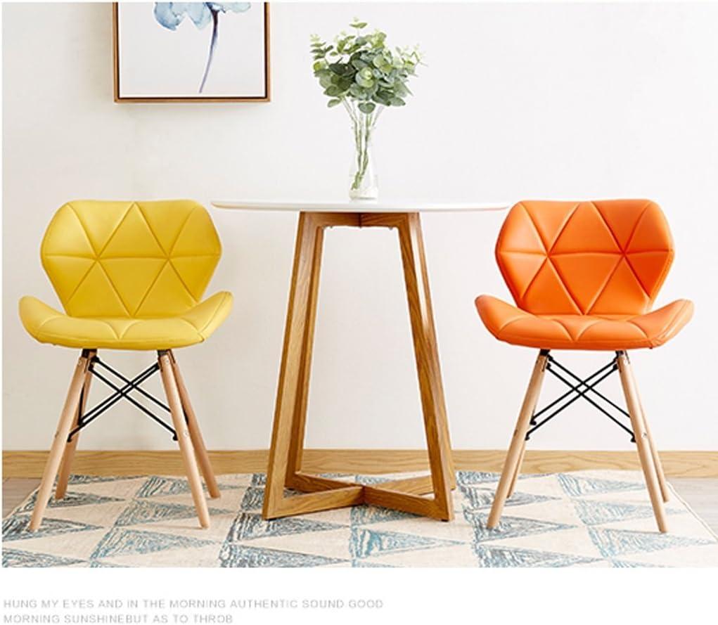 HXF- Chaise d'ordinateur créatif Chaise Minimaliste Moderne Durable (Color : C) E