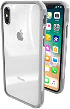 iPhone X Case - ThanoTech K11 Bumper - Lightweight Aluminum TPU - Matches Your Phone Seamlessly - Slim, Durable, and Shockproof Protection - Silver
