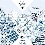 Clairefontaine - Papel para origami, papel, Shibori, 15 x 15 cm