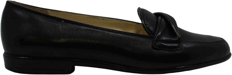 Amalfi by Rangoni Womens Osimo Leather Round Toe Loafers