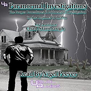 Paranormal Investigations audiobook cover art