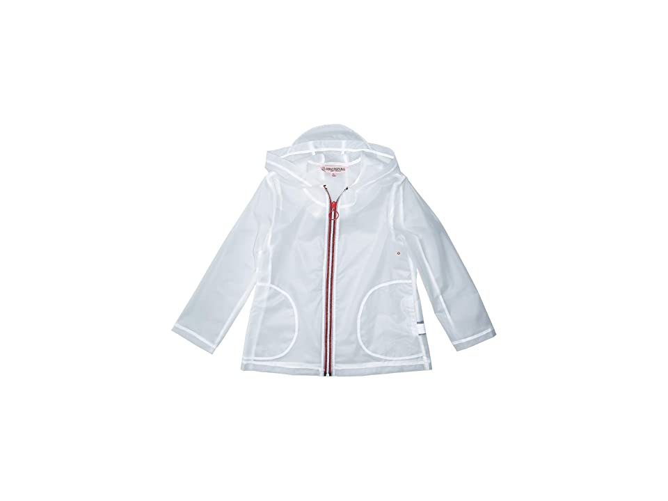 Urban Republic Kids Transparent Raincoat (Little Kids/Big Kids) (Clear) Girl