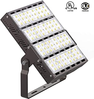 HYPERLITE 240W LED Flood Lights 31,200LM,700W Equivalent,5000K Daylight Outdoor Floodlight IP65 Waterproof Security Lighting Fixture for Playground,Garden,Warehouse,Parking Lot,UL DLC Listed