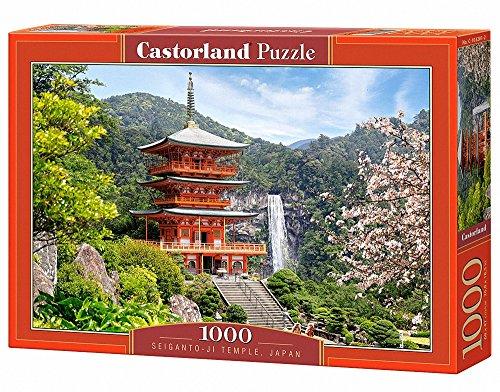Castorland C-103201-2 - Seiganto-ji-Temple, Puzzle 1000 Teile