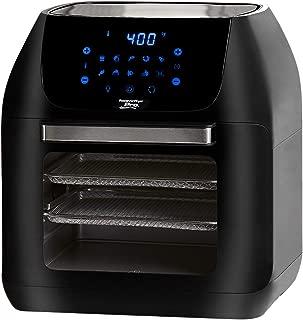 Power XL Air Fryer XLT Pro 6 Quart Hot Air Fryer, Rotisserie & Food Dehydrator – Deluxe Air Frying Accessories. 3 Recipe Books, Black