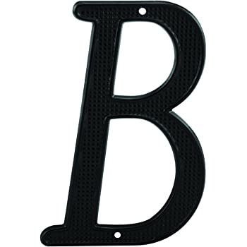 """New Black METAL 6/"""" HOUSE LETTERS Wrought Iron Signage for Outdoor Home Address"""