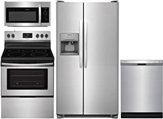 Best frigidaire 4 piece kitchen suite stainless steel Reviews