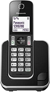 Panasonic KX-TGD310 Digital Cordless Telephone, Black