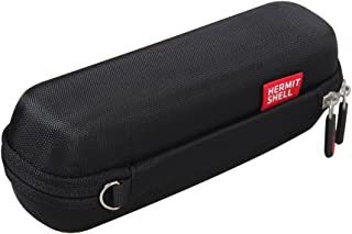 Hermitshell Travel case Fits iProven DMT-489 / ANKOVO Medical Forehead and Ear Thermometer (Black)