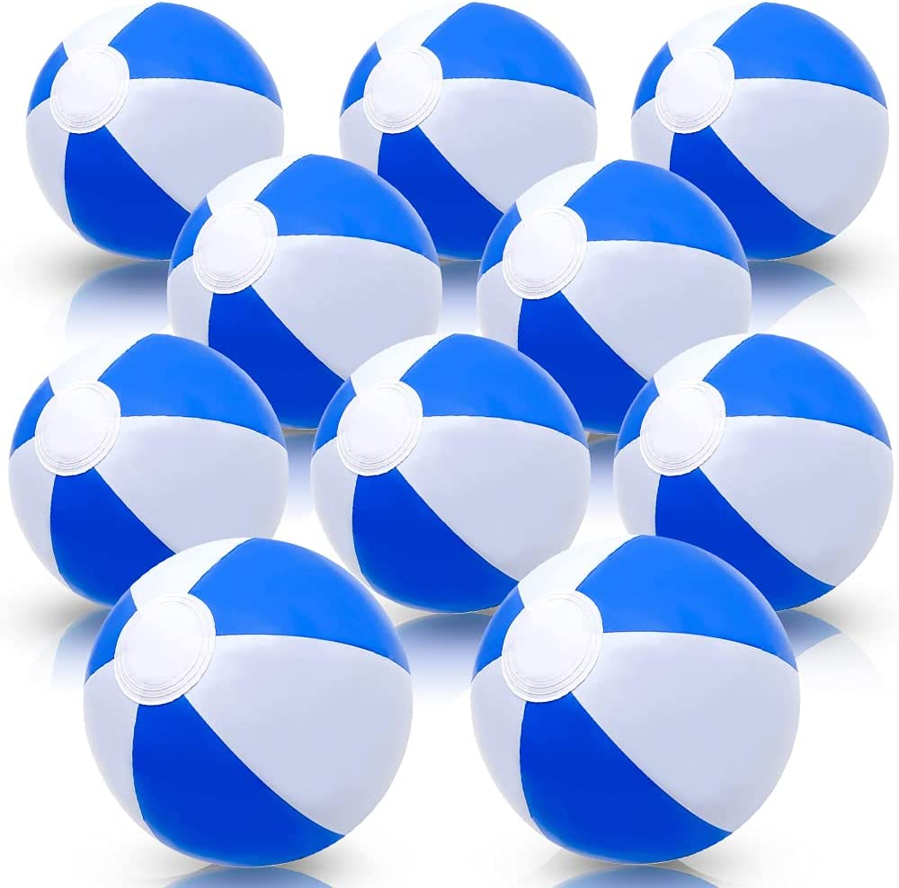 ArtCreativity online Product shop 16 Inch Blue White Beach Kids for Balls Pack of