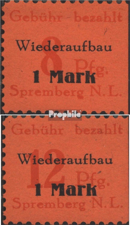 Nuevos productos de artículos novedosos. Prophila Collection spremberg (Niederlausitz) 15A-16A (Completa.edición.) 1945 dígitos dígitos dígitos (Sellos para los coleccionistas)  edición limitada