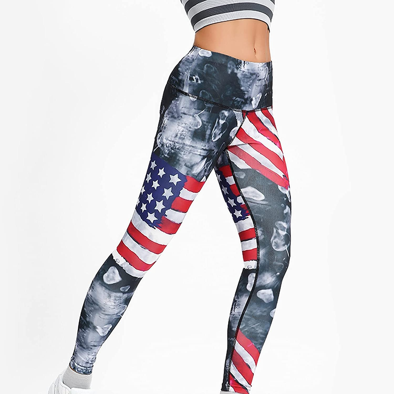 Smooto Ladies High Waist Printed Skinny Sports Yoga Pants TikTok Leggings