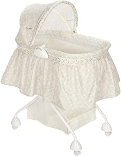 The First Years 4-in-1 Sleep System Bassinet, Ivory Vines (Discontinued by Manufacturer)