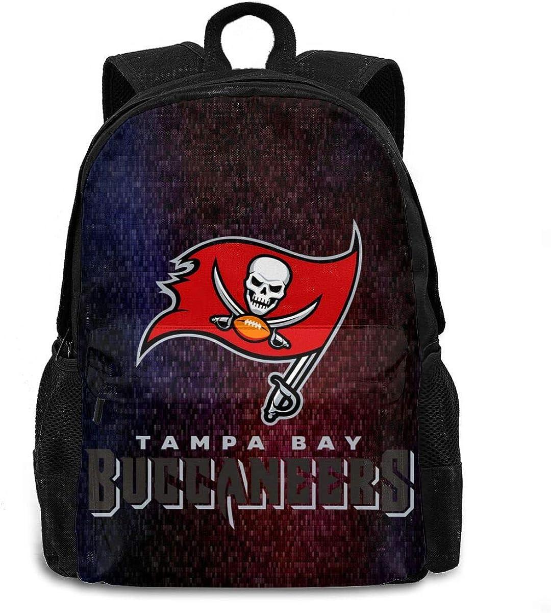 Tampa Bay Brady Backpack Unisex Student Cartoon School Bag Rucksack Teen Boy Girl Backpack