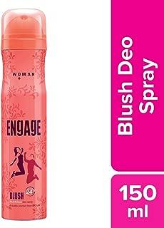 Engage Blush Deodorant For Women, 150ml / 165ml
