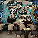 Fotomurales Decorativos Pared Vinilos Decorativos Papel Fotografico 3D Papel Tapiz Fotográfico Dibujado A Mano, Grafiti, Fondo Del Coche, Estéreo, Sala De Estar, Restaurante, Dormitorio, Mural Papel