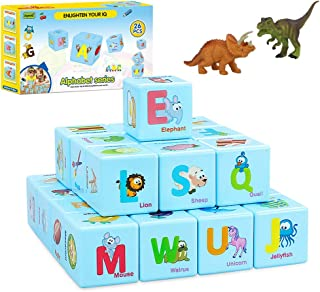 COGO MAN ABC Learning Building Blocks and 2 Realistic...