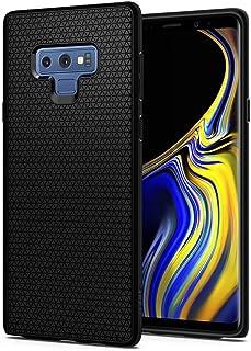 Galaxy Note 9 Case, Spigen Liquid Air Armor Case with Durable Flex and Easy Grip Design Matte Black