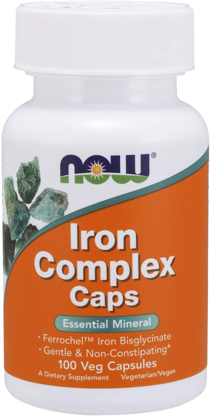 Now Cheap Foods Supplements Iron Caps Ess Max 70% OFF Complex Non-Constipating