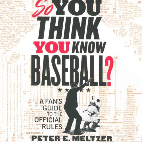 So You Think You Know Baseball? audiobook cover art