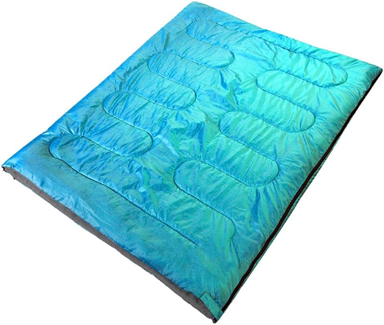 ZXQZ Umschlag Schlafsack Doppel Doppel Doppel Schlafsack Erwachsene im Freien Wasserdichte Camping Baumwolle rechteckigen Schlafsack (180  140cm) Mumienschlafsäcke B07DC21NMN  Geschwindigkeitsrückerstattung 80f4e1
