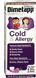 Dimetapp Children's Cold & Allergy Relief Liquid-Grape-8 oz