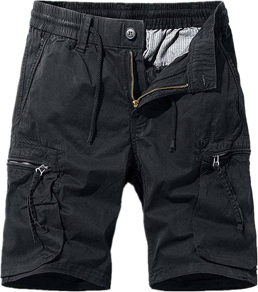 NP Shorts Men's Summer Loose Five-Point mid-Pants Overalls Thin Section