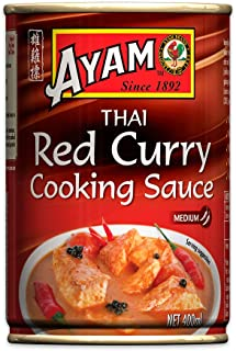 AYAM Red Curry Sauce | Spicy & Subtle | Egg, Dairy, Nut & Gluten Free | No Preservatives, No Artificial Flavours, No Artif...