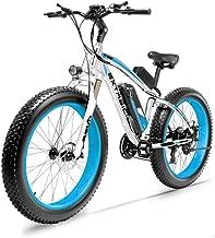 Cyrusher Fat Tire Bike Snow Bike Mountain Bike XF660 26/4.0 Inch Electric Fat Bike 1000W 48V 21 Speeds Disc Brake