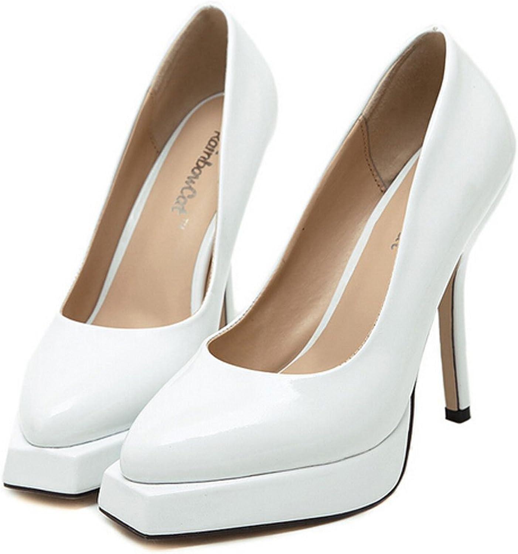 San hojas Women Pumps Party Bridal Heels Black Thin Heel