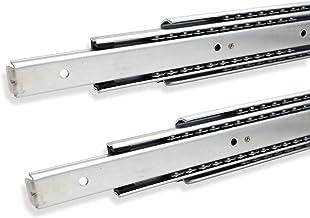 SOTECH 1 paar volledig uittrekbare ladegeleiders 108990 hoogte 53,4 mm, lengte 1000 mm kogelgeleider max. draagvermogen 80 kg