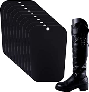 Ruisita 5 Pairs (10 Sheets) Boot Shaper Form Inserts Boots Tall Support for Women and Men