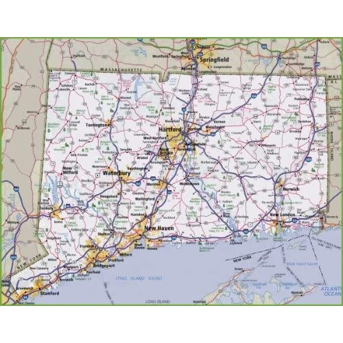 Rhode Island Maps: Amazon.com