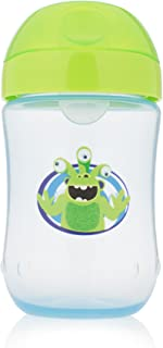 Dr. Brown's Soft-Spout Toddler Cup, Monster Blue/Green, 9 Ounce, Single