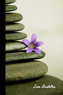 Zen Buddha: small ZEN Stones & Buddha Positivity Task planner & Gratitude Journal/Notebook to write in (6'' x 9'')