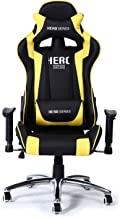 Racoor Video Gaming Chair, Black and Blue - 134H x 70W x 71D cm