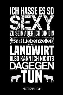 Ich hasse es so sexy zu sein aber ich bin ein Bad Liebenzeller Landwirt also kann ich nichts dagegen tun: A5 Notizbuch | L...