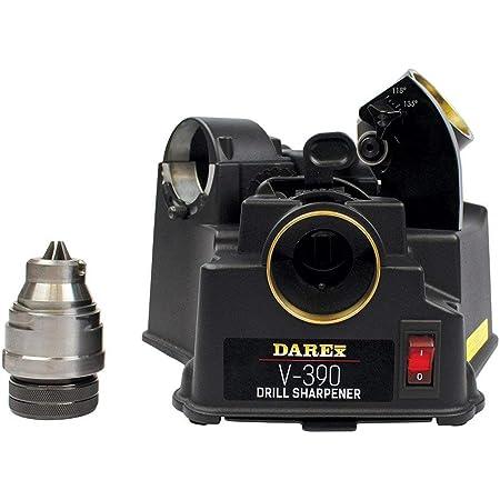 "DAREX Drill Bit Sharpener - Model : V390 Capacity: 1/8"" to 3/4"""