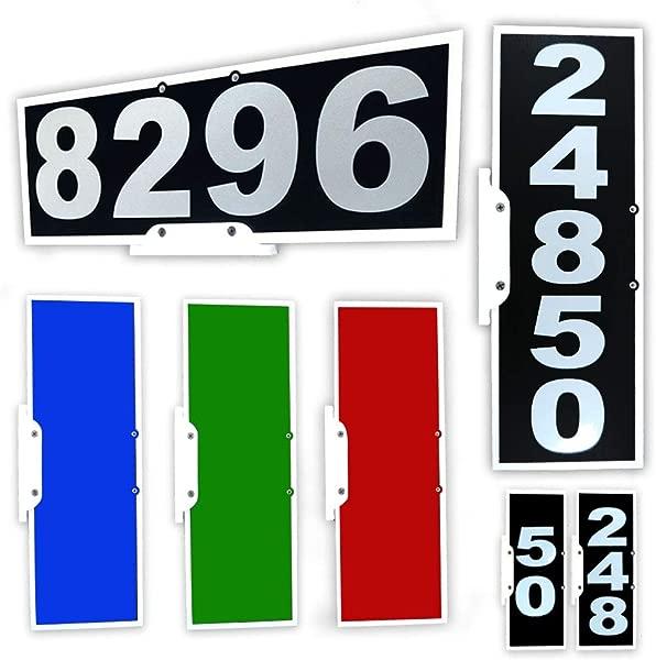 垂直或水平的邮箱地址斑块反光贴 911 片最明显的邮箱地址标记的钱可以买到