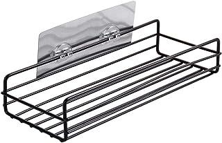 Poinçon gratuit non percé adhésif salle de bain douche étagère de rangement cuisine pot à épices organisateur savon étagèr...
