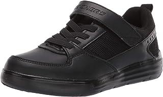 Skechers Kids Boys' Maddox-City Shifter Sneaker Black, 10.5 Medium US Little Kid