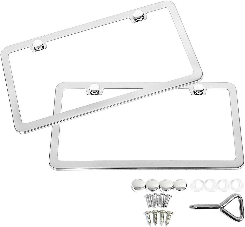 SunplusTrade License Plate Frame