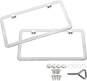 Best license plate frames for BMWs